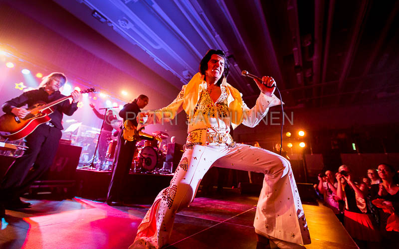Elvis – Kuninkaan laulut Leppävirralla
