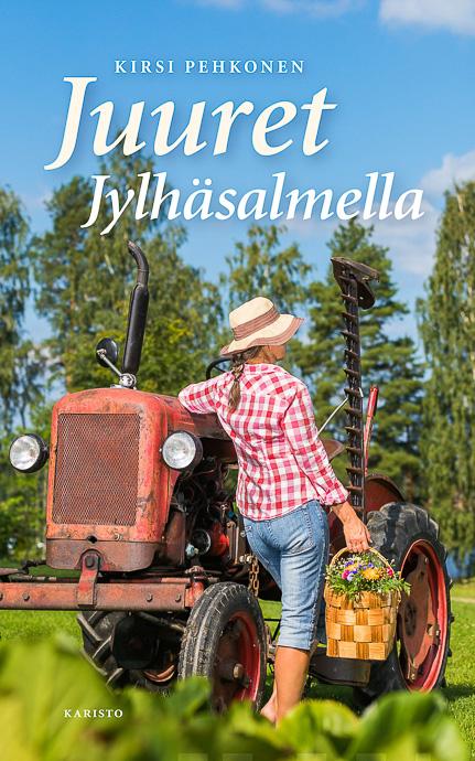 Kirjailija Kirsi Pehkonen Juuret Jylhäsamella valokuvaaja Petri Jauhiainen