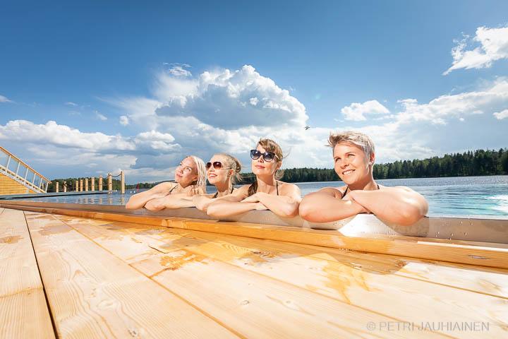 Referenssikuvaus Kuopion Saana