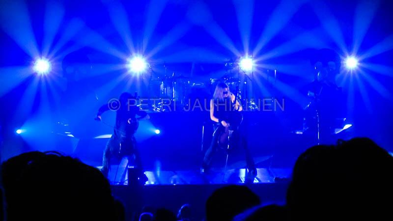 Apocalyptica Kuopion musiikkikeskuksella valokuvaaja Petri Jauhiainen